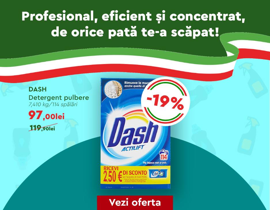 Detergent Dash 114 spalari